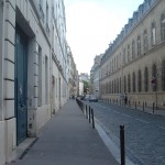 View down the Rue Oudinot