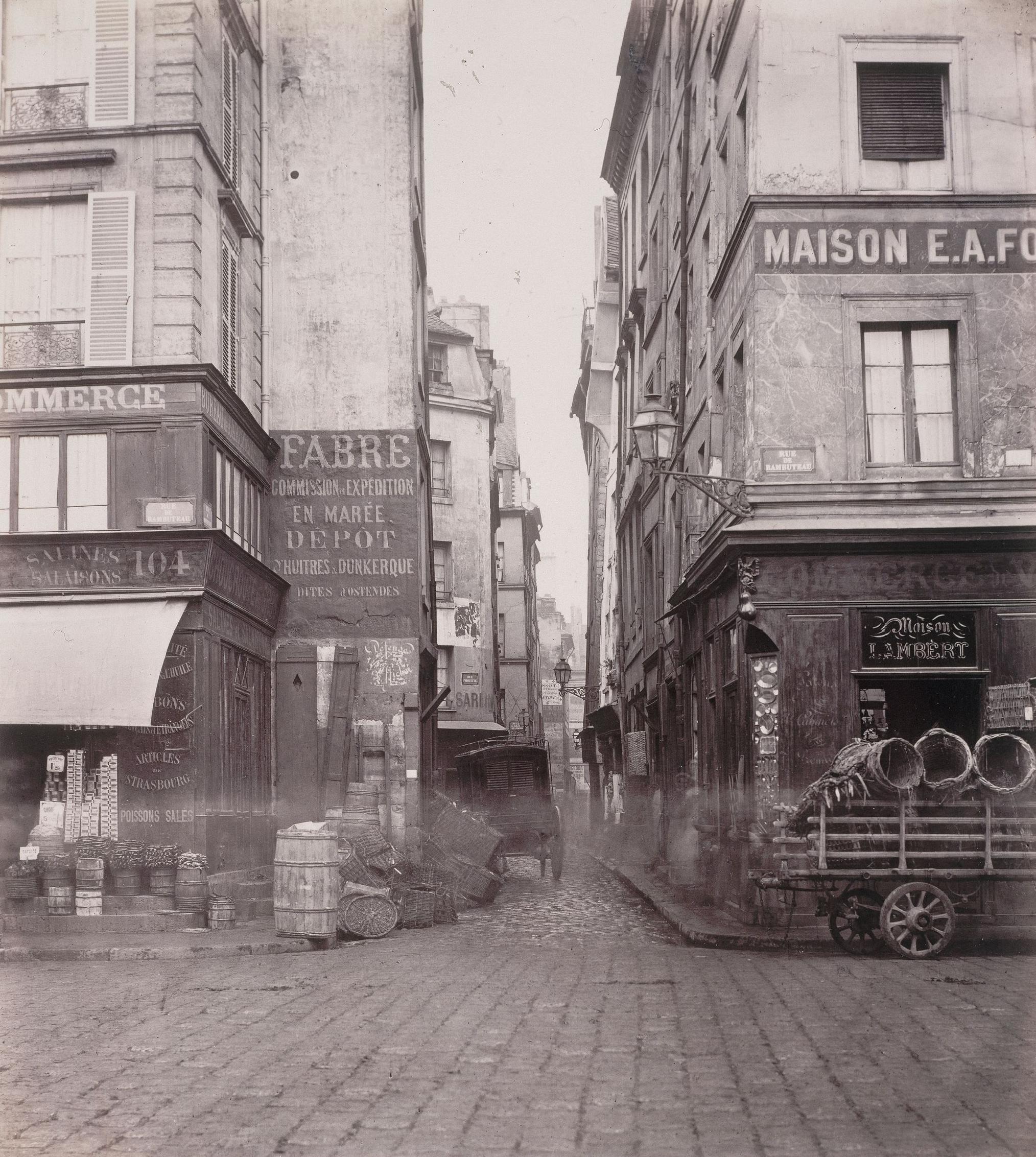 Paris carpe horas - Rue rambuteau paris ...