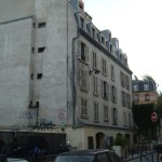 Former convent in the Rue Tournefort